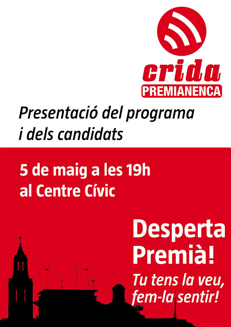 Acte de presentació de Crida Premianenca