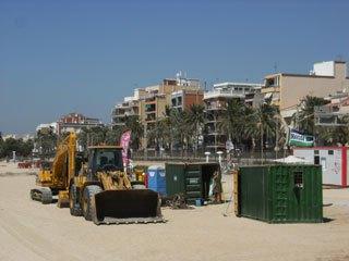 Crida Premianenca demana que no s'iniciïn els treballs de regeneració de les platges de Premià