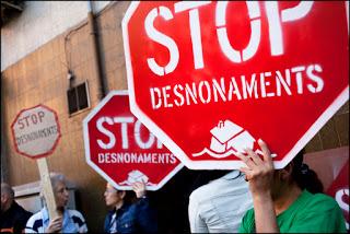 El Ple de desembre no aprova deixar de treballar amb els bancs que efectuen desnonaments