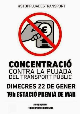 [22 de gener] #StopPujadesTransport