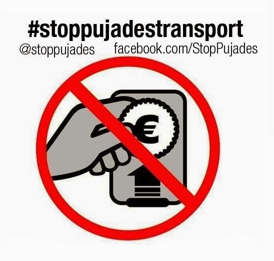 Un centenar de càrrecs electes signen una declaració contra l'augment abusiu de les tarifes de transport públic