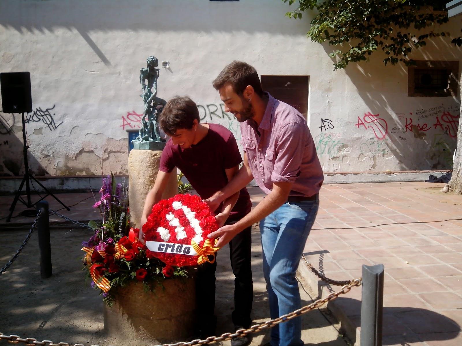 Discurs de Crida Premianenca a l'acte institucional de l'Onze de Setembre