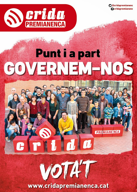 És hora de fer un punt i a part, és hora de que el poble sigui el seu govern. Governem-nos!
