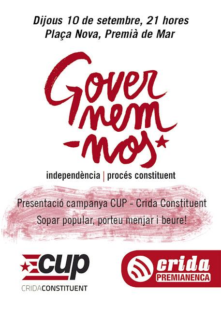 Crida Premianenca-Poble Actiu i les eleccions al Parlament de Catalunya del 27s.