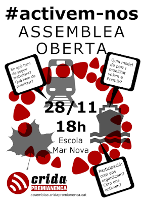 Activem-nos: segona assemblea oberta a peu de carrer.