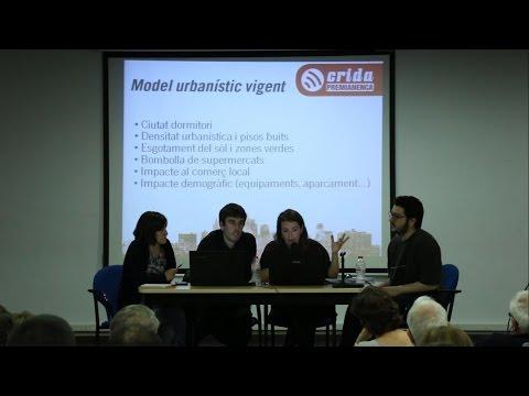 """Èxit d'assistència i participació a la xerrada """"Urbanisme a la Premianenca"""""""