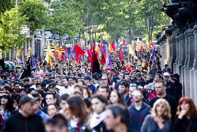 Primer de Maig. Una classe, un poble, la república catalana i la solidaritat internacional.