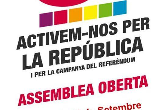 Crida a la mobilització popular contra la repressió i a favor de l'autodetermianació