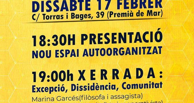 Crida Premianenca aposta per contribuir a la creació d'un espai d'activació popular a Premià de Mar