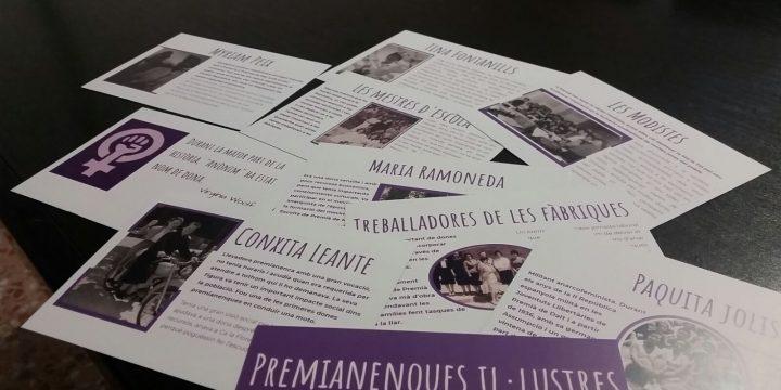 La història serà feminista o no serà. Aquest 8M recuperem les històries de les dones premianenques.