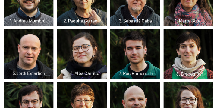 Coneix la llista de Crida Premianenca per a l'Ajuntament de Premià de Mar!