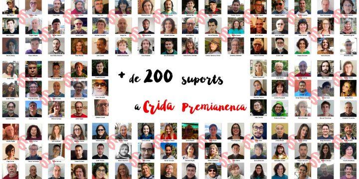 222 persones donen la cara per la Crida!