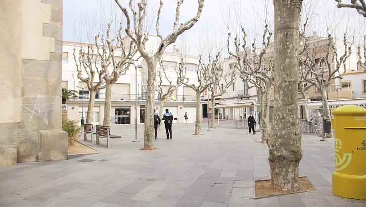 Plaça Ajuntamen Premià de Mar